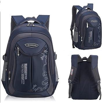 UrChoiceLtd® Backpacks Children School Bag Boys Girls Grades 4-6 Shoulder  Waterproof Reflective Bag de2c3085ef