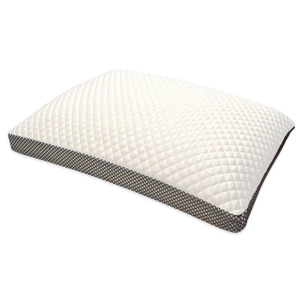 Therapedic TruCoolサイドスリーパー枕ダイヤモンドラグジュアリー キング ホワイト B0747TKTPC  キング
