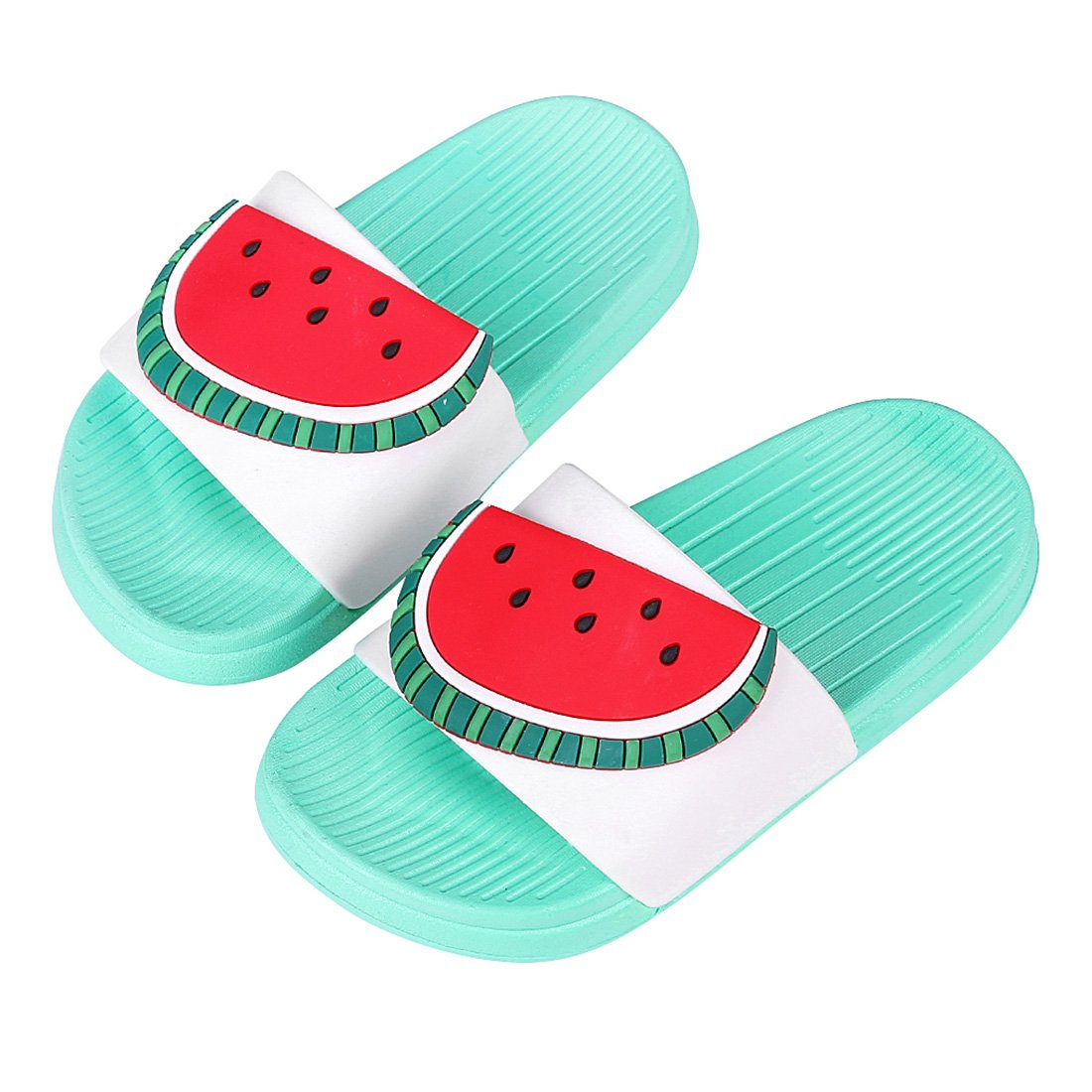 Cute Bath Slippers Colorful Fruit Beach Sandals Shower Shoes for Adults and Kids AQ21