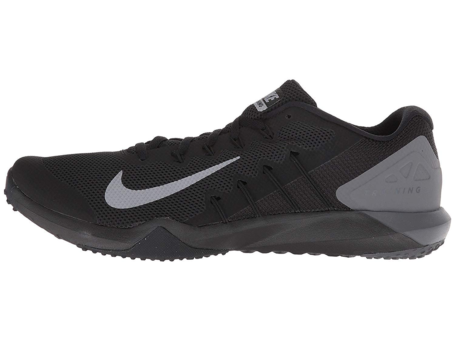 dd6712fdc6fd99 Nike Men s Retaliation TR 2 Black Grey Training Shoes (AA7063-003)  Buy  Online at Low Prices in India - Amazon.in