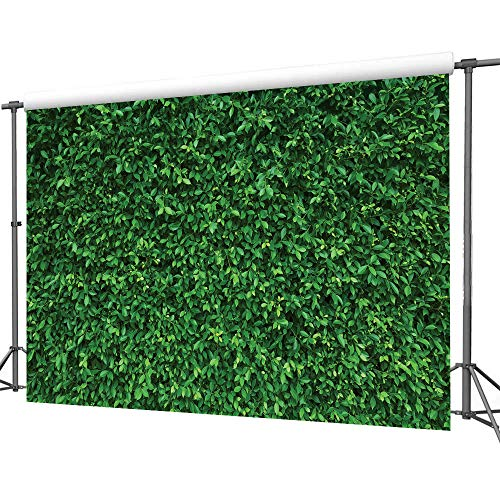 LYWYGG 7x5FT Green Leaves Photography Backdrops Mmicrofiber Nature Backdrop Birthday Background for Birthday Party Seamless Photo Booth Prop Backdrop CP-87 by LYWYGG (Image #4)