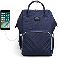 LAND Baby Diaper Bag Backpack - Multi-Function Waterproof Maternity Travel Nappy Bags for Baby Care - Large Capacity…