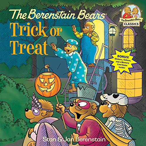 The Berenstain Bears Trick or Treat (Deluxe Edition) (First Time Books(R)) -