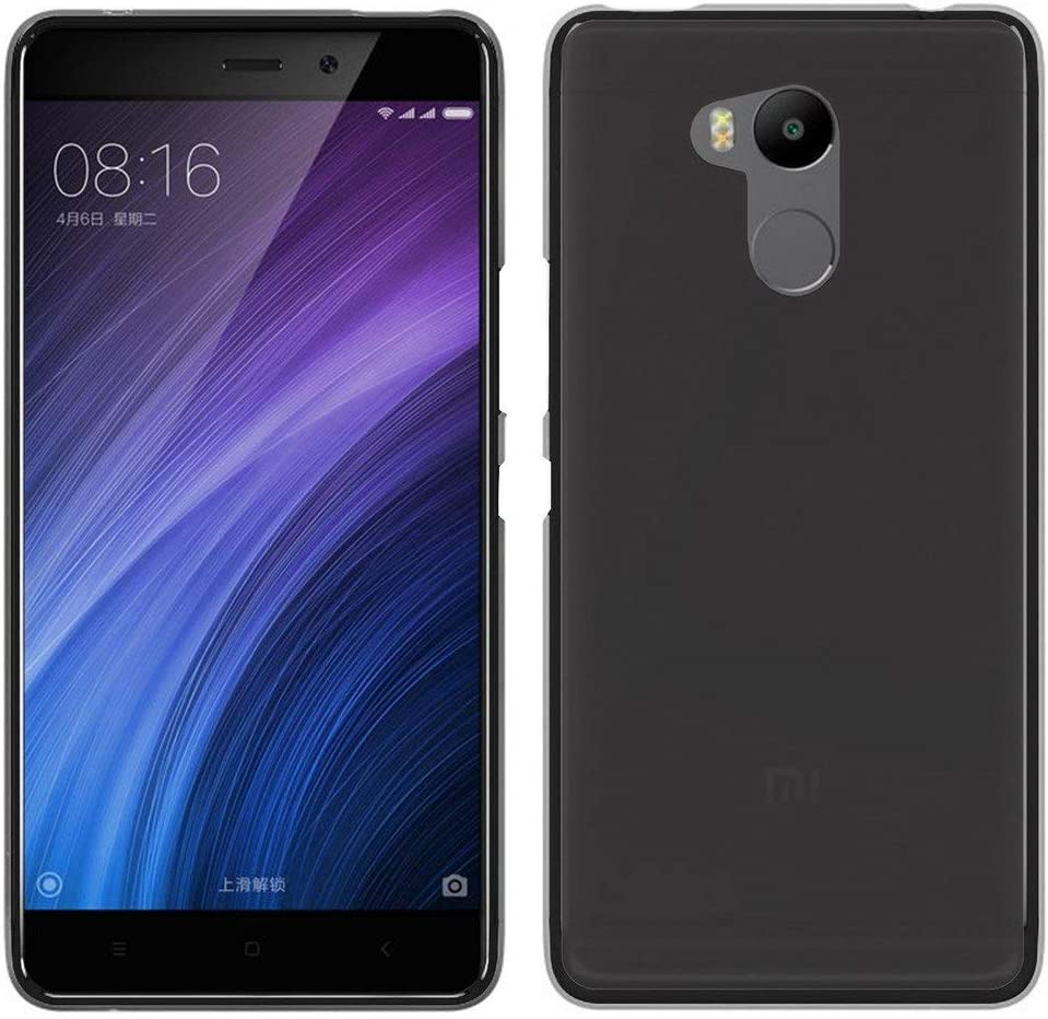 Tumundosmartphone Funda Gel TPU para XIAOMI REDMI 4 Pro Color Negra