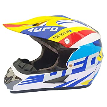 Wenyan Adulto Motocross Casco MX Moto Casco ATV Scooter ATV ...