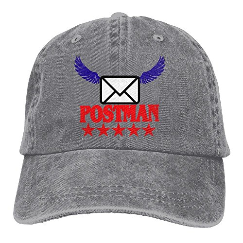Aeui Ping Postman Mail Classic Baseball Caps Unisex Adult Cowboy Hat - Delivery Priority Mail Time