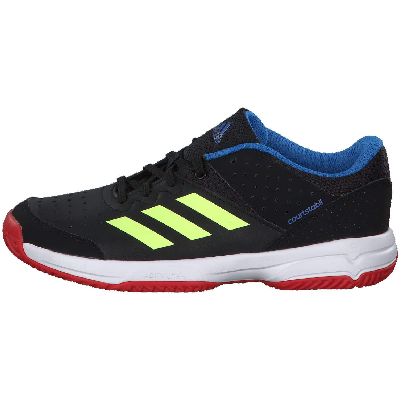 half off ed31f 7046b adidas Court Stabil Jr, Chaussures de Handball Mixte Enfant