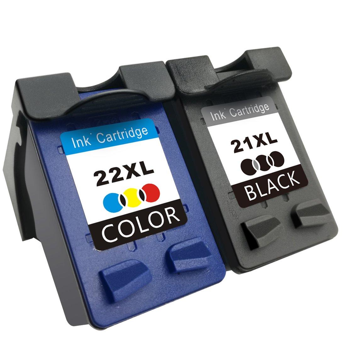 tootwo remanufacturados de repuesto para HP 21 XL 1 negro ...