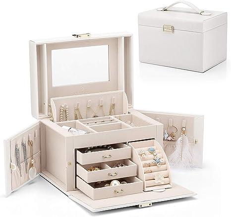 Joyero Beauty Box color blanco