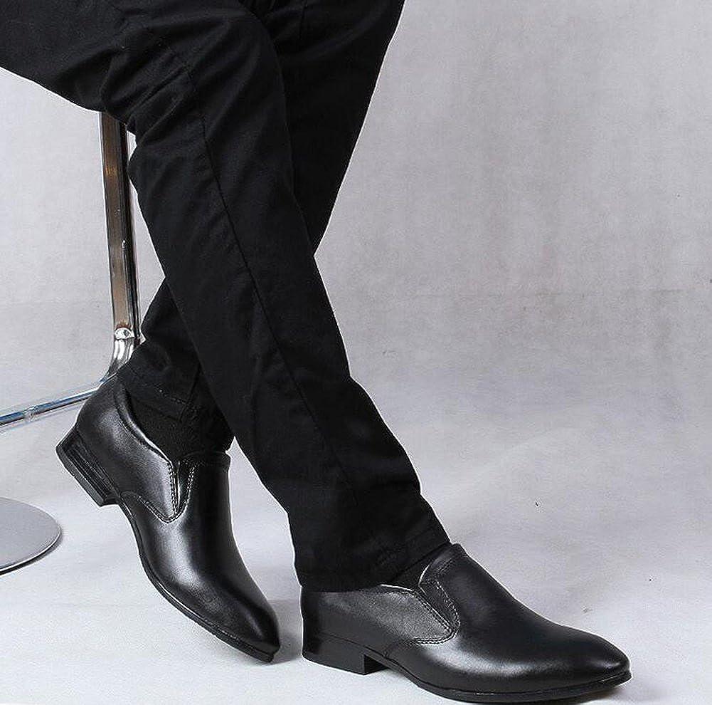 2018 Business Neue Herren Lederschuhe Casual Business 2018 Schuhe Atmungsaktive Slip-Ons Frühling Herbst,C,46 - 0e9f75