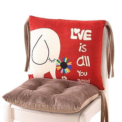 SESO UK- Mejor Cojín de silla de oficina de coche para ciática, almohadilla de