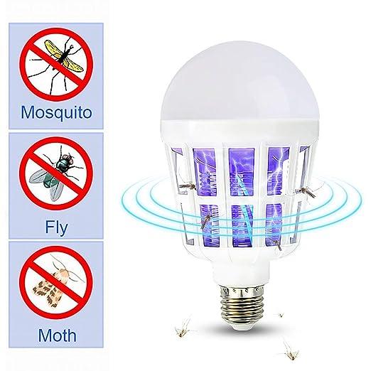insectos2 de en para 1luz UV Bombillas LEDmata luz On0w8kP