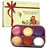 Mysore Sandal Soap Gift Pack, 150g - Pack of 6