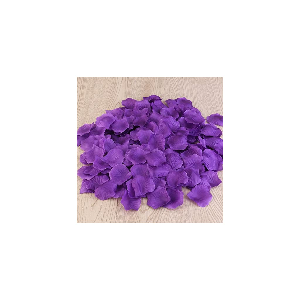 PIXNOR-1000pcs-Silk-Rose-Petals-Decorations-for-Wedding-Party-Purple
