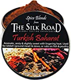 Turkish Baharat Spice Blend from The Silk Road Restaurant & Market (2oz), No Salt | All Natural Mediterranean Seasoning | Vegan | Gluten Free Ingredients | NON-GMO | No Preservatives