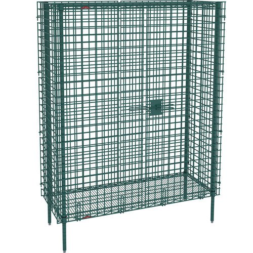 Metro SEC55K3 Super Erecta Metroseal 3 Heavy Gauge Wire Stationary Security Storage Unit with Microban, 50-1/2