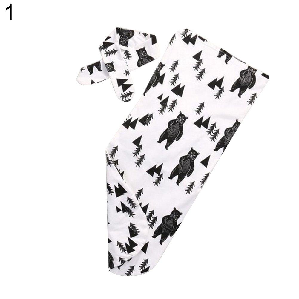 Lsgepavilion Sac de Couchage avec Bandeau Motif Fleurs, Coton, N°4, Taille Unique