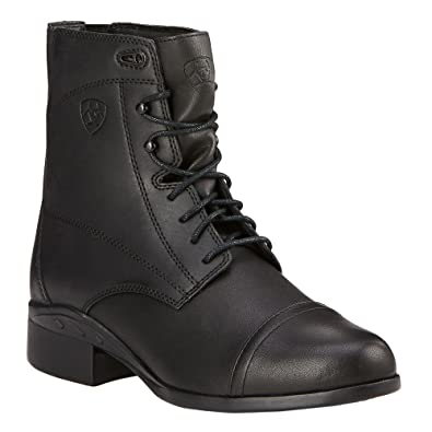 Official Ariat Scout Zip Paddock Womens Black boots Vc5k Fh Tn