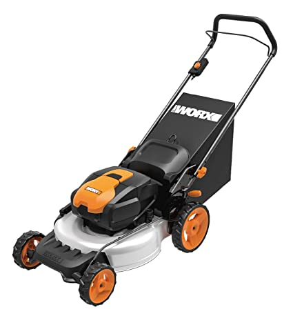 WORX WG772 56V Lithium-Ion 3-in-1 Cordless Mower