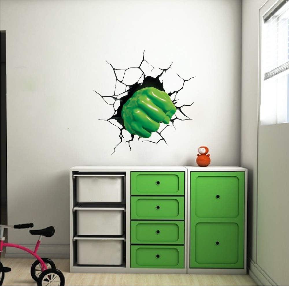Amazon.com: Wall Decals Hulk Home Decor - Hulk Fist Avengers ...