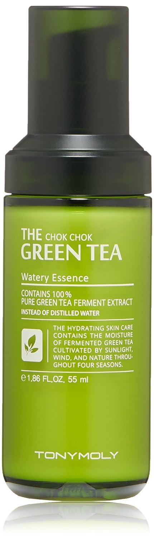 TONYMOLY The Chok Chok Green Tea Watery Essence,1.86 Fl Oz