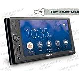 Volunteer Audio Sony XAV-AX1000 Car Stereo Double Din Radio with Apple Carplay, Bluetooth, Sirius XM Ready
