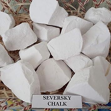 Natural Lumpy Edible Chalk 8 Oz Sawn Chalk Belgorod Natural Eating Chalk