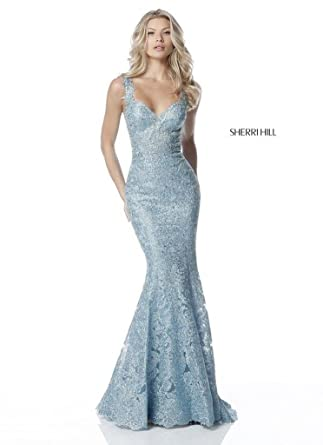 Sherri Hill Spring 2018 Evening Prom Gown 51571 Size 4