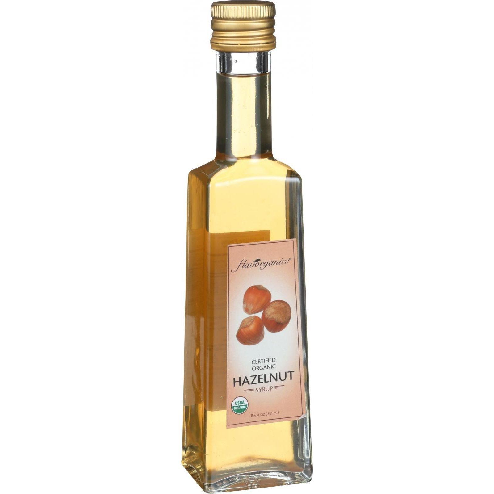 Flavorganics Organic Hazelnut Syrup, 8.5 oz