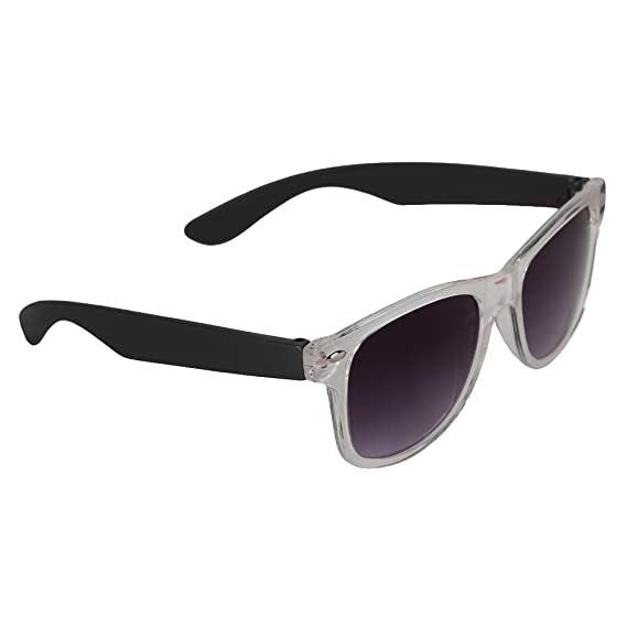 To For Full Blackamp; 8 Case5 Years Amour With Frame Wayfarer Sunglasses Clear Lens Kids 6gYbf7yv