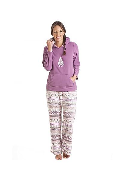 Camille - ropa de dormir Pijama para Mujer de color PÚRPURA de talla 18/20
