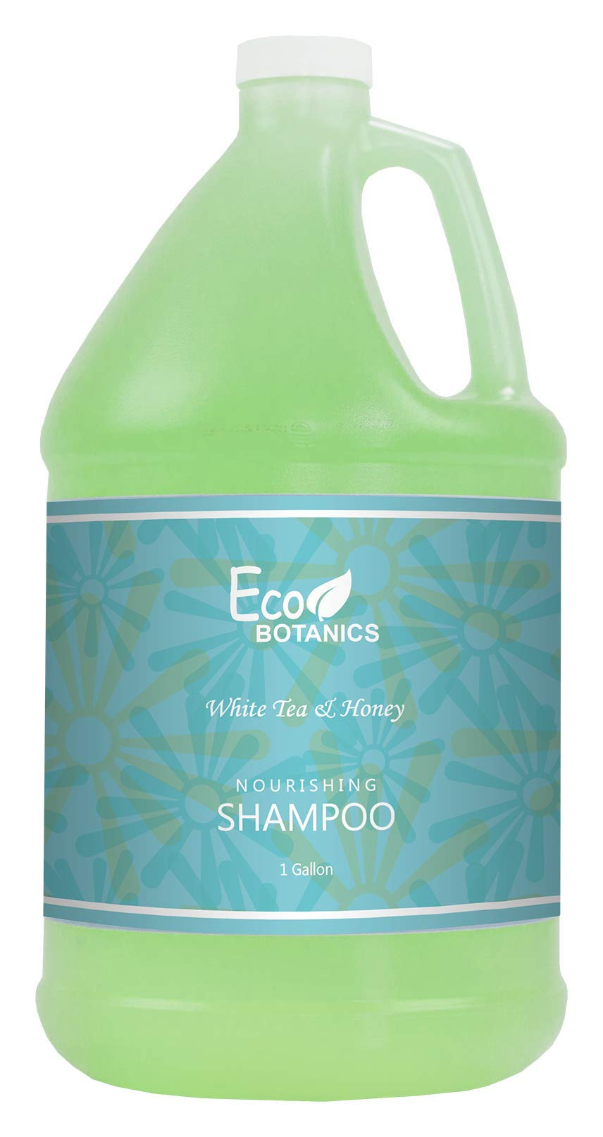 Eco Botanics Hotel Shampoo | 1 Gallon | Designed to Refill Soap Dispensers | by Terra Pure (Single) by Terra Pure