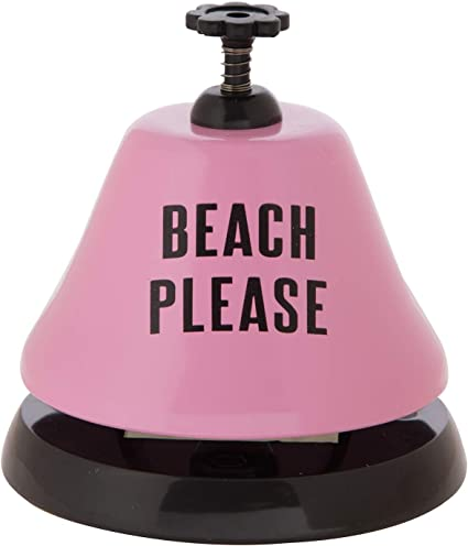 Creative Brands Bar Top Bell Beach Please 3.75-Inches