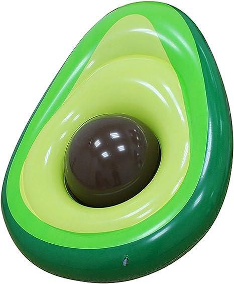 Amazon.com: Dmgf piscina flotador hinchable gigante aguacate ...