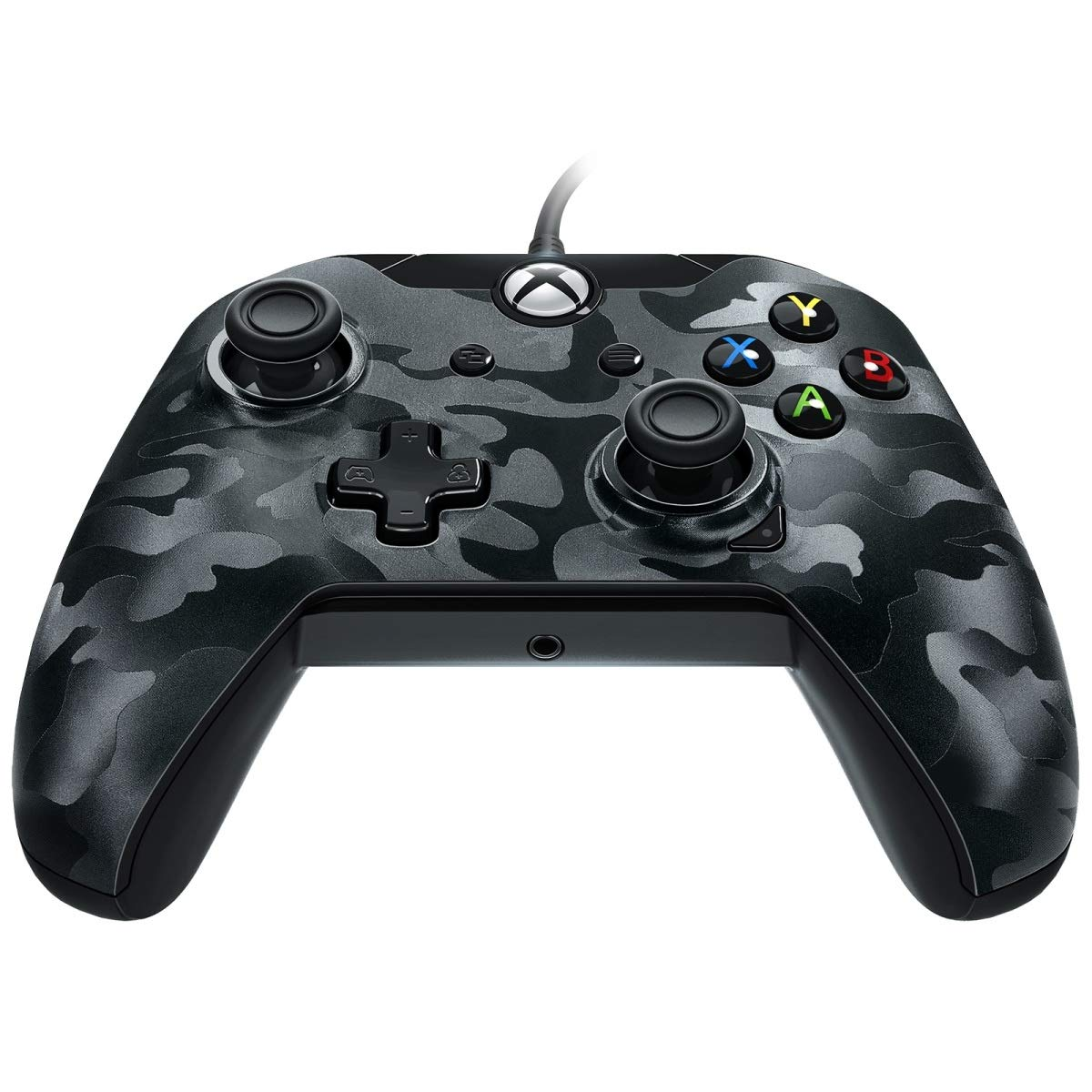 PDP Stealth Series Wired Controller for Xbox One, Xbox One X and Xbox One S, Phantom Black product image