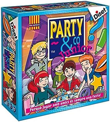 Oferta amazon: Diset- Party & Co. Junior Juego de Mesa, Multicolor (10105)