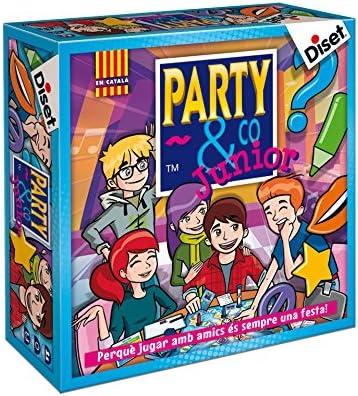 Diset 10105 - Party & Co Junior (edición en catalán): Amazon.es ...