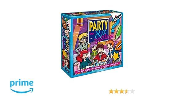 Diset 10105 - Party & Co Junior (edición en catalán): Amazon.es: Juguetes y juegos