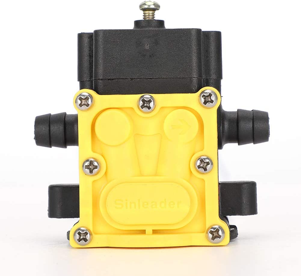 Type A Size Fdit Pompa per Acqua in plastica Pompa a Pressione a Membrana a 12V Agricoltura per Giardino Accessori per Pompa ad Acqua per spruzzatore Elettrico