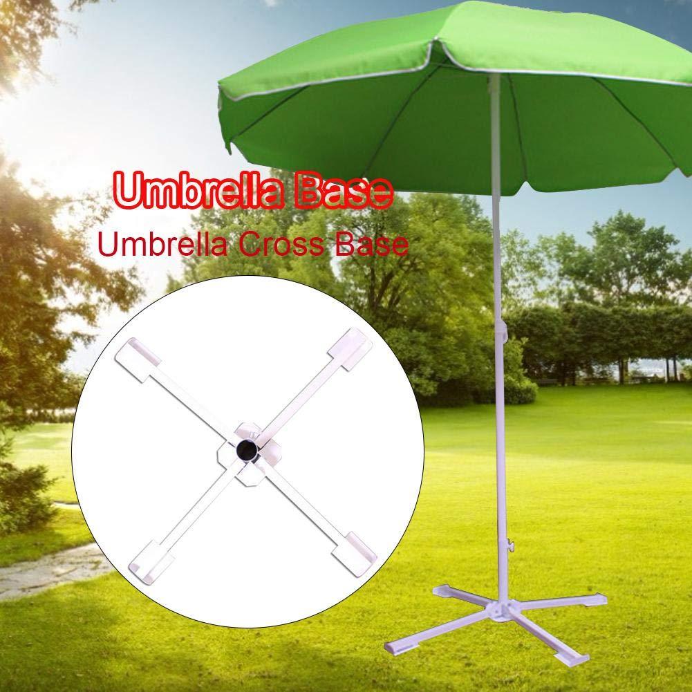 Porte-Parapluie Pliant Portable /À Quatre Pieds Porte-Parapluie Pliant Porte-Parapluie Fixe KEIBODETRD Pied Parasol,Base pour Parasol Parapluie Ext/érieur