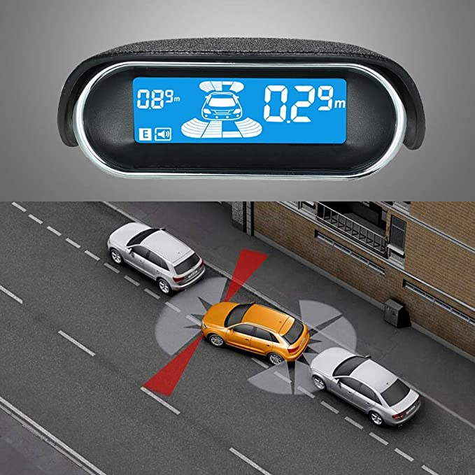 Alina-Shops - Parking Sensors 6/8 Sensors Optional Electronics Cars Parking Assistance Reversing Radar Car Detector Parking Assistance Parking - - Amazon. ...