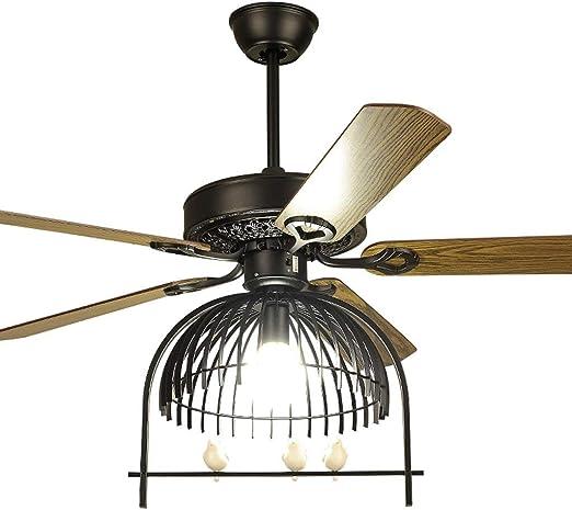 42/54 pulgadas Ventilador de techo Lámpara de ventilador Moderna ...