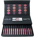 Frolex Huda Beauty Combo Liquid Matte Lipstick Set Of 16 Piece
