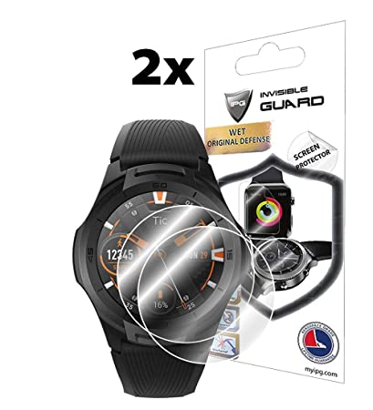 Amazon.com: IPG for TICWATCH S2 Smartwatch Screen Protector ...