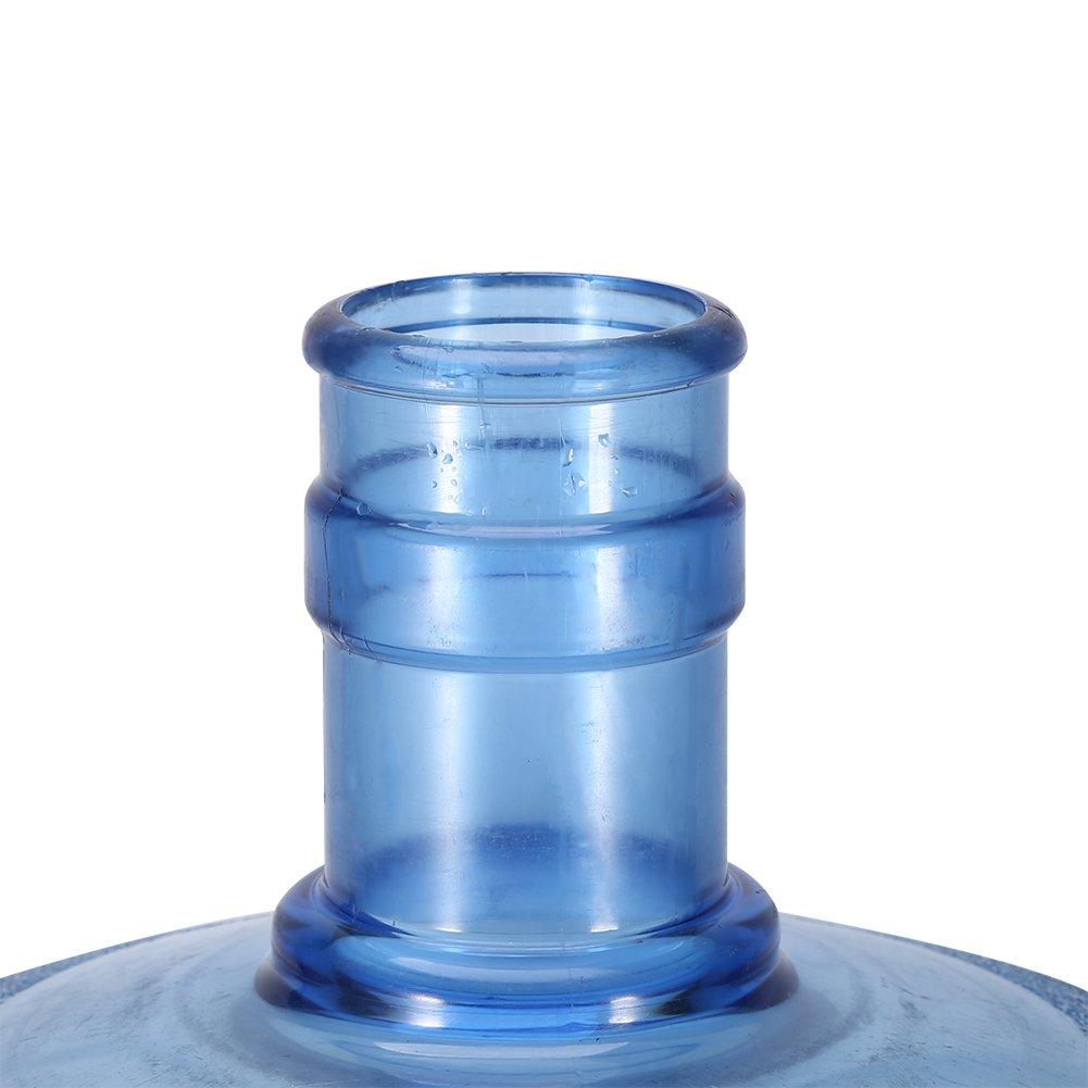 Válvula de dispensador de agua ,Reutilizable Manual Operated botella de agua, Dispensador de cañón de agua con tapa a prueba de polvo 5.5cm / 2.2inch: ...