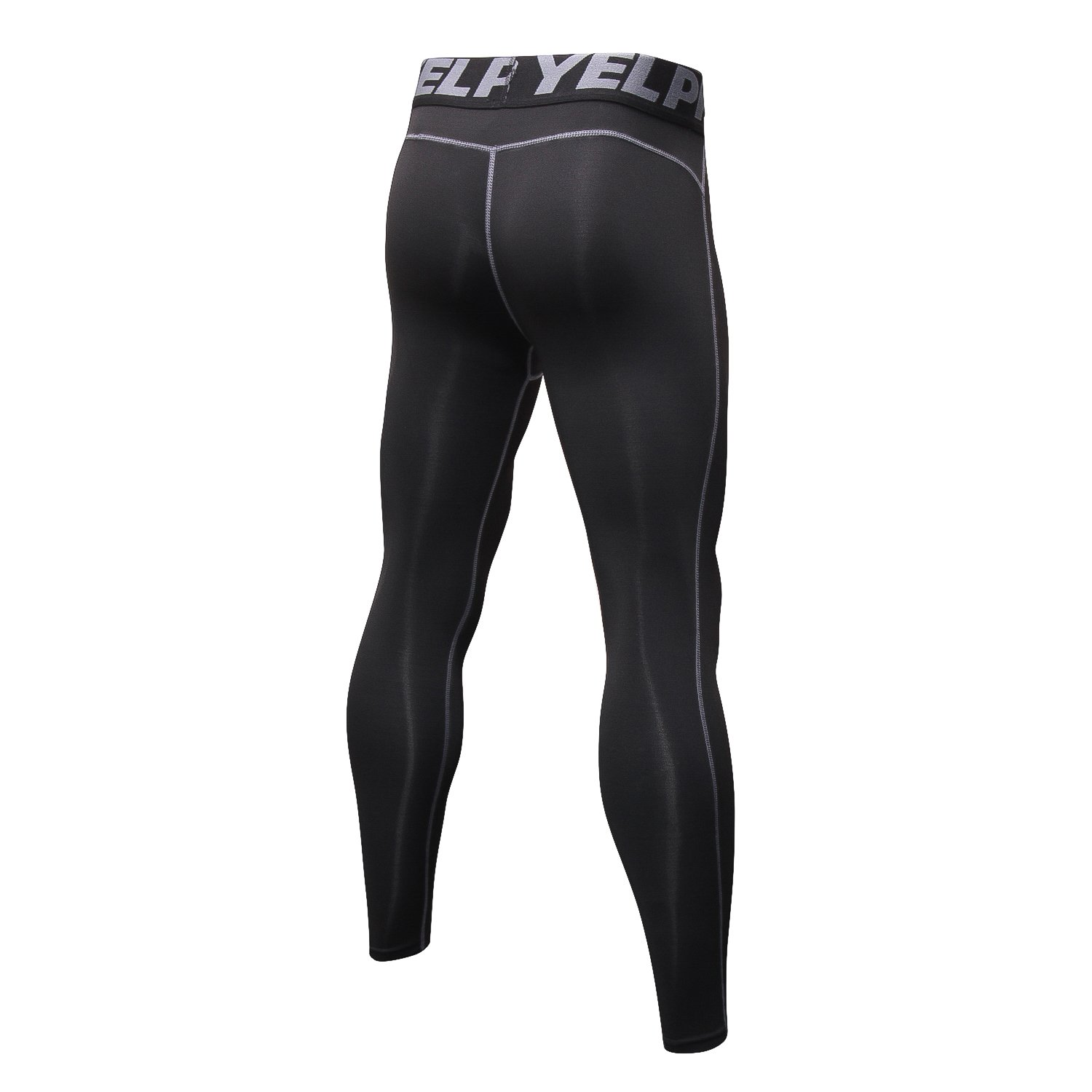 d47b170aa7 Amazon.com: Malavita Men Compression Pants Sports Tights Leggings Base  Layers Workout Running 2 Pack: Clothing