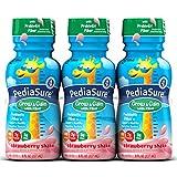PediaSure Grow & Gain with Fiber Strawberry Shakes, 8 oz, 30 Count