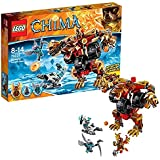 Lego Legends Of Chima - Playthèmes - 70225 - Jeu De Construction - L'ours De Bladvic