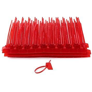 100pcs 4 x 160mm Hersteller Nylon Kabelbinder Bunte Draht Zip ...