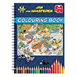 Jumbo - Jan Van Haasteren Adult Colouring Book - Best Reviews Guide